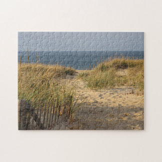Path through the sand dunes jigsaw puzzle