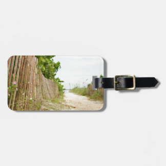 Path to Bliss on Florida Beach Luggage Tag