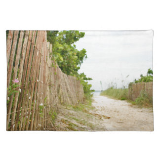 Path to Bliss on Florida Beach Placemat