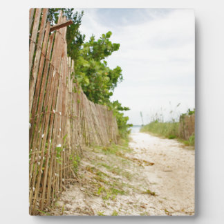 Path to Bliss on Florida Beach Plaque