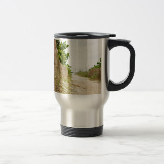 Path to Bliss on Florida Beach Travel Mug