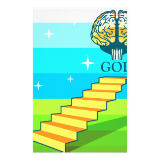 Path to God vector Personalized Stationery