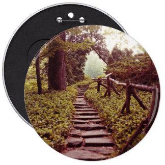 Path To Light 6 Inch Round Button