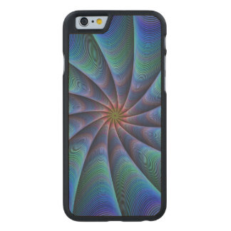 Path to meditation carved maple iPhone 6 case