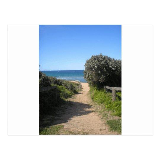 Path to palm beach postcard