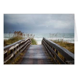 Path to Sea in Florida Card