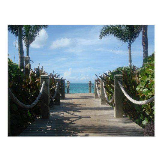 Path to the Beach Postcard