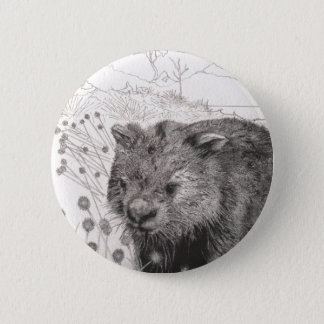 Path to Wombat Pool 2 Inch Round Button