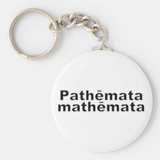Pathemata mathemata suffering are teachings Herodo Keychain