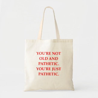 PATHETIC TOTE BAG