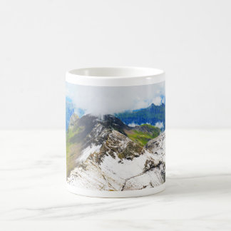 Paths in the Swiss alps Coffee Mug