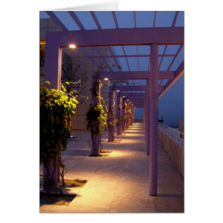 Pathway at Dusk Card
