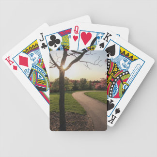 Pathway Bicycle Playing Cards