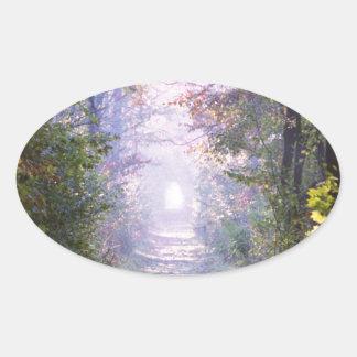 Pathway Oval Sticker