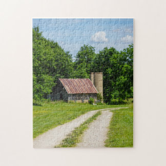 Pathway Through A Farm Jigsaw Puzzle