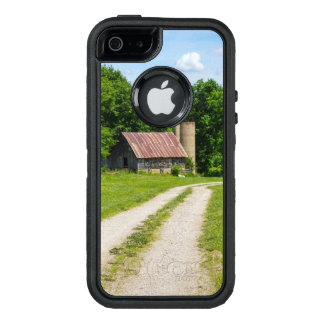 Pathway Through A Farm OtterBox Defender iPhone Case