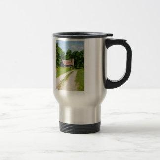 Pathway Through A Farm Travel Mug