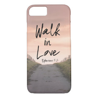 Pathway with Walk in Love Bible Quote Case-Mate iPhone Case