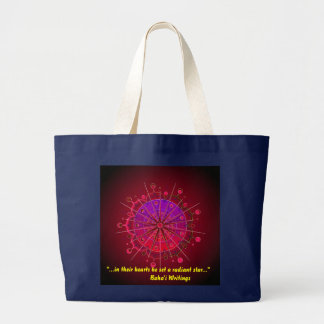 Patience19 Large Tote Bag