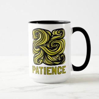 """Patience"" 15 oz Combo Mug"