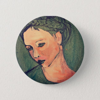 Patience 2 Inch Round Button