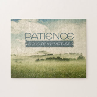 Patience Virtue Custom Puzzle