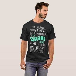 Patient Amazing Its A Taurus Thing Zodiac Tshirt