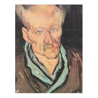 Patient at Hospital Saint-Paul by Vincent van Gogh Postcard