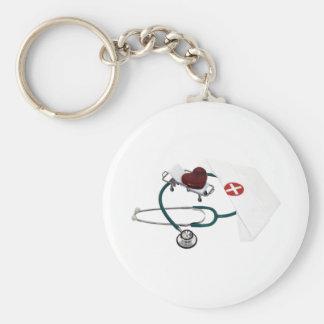 PatientCare082309 Basic Round Button Keychain