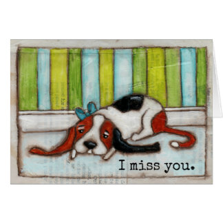 Patiently Waiting - Greeting Card