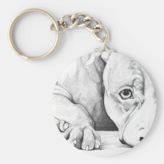 Patiently Waiting Keychain