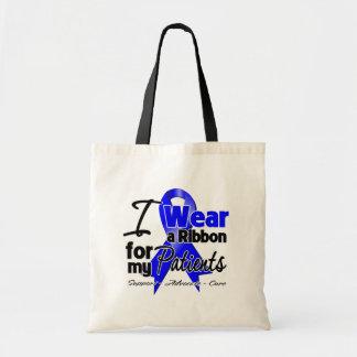Patients - Colon Cancer Ribbon Bag