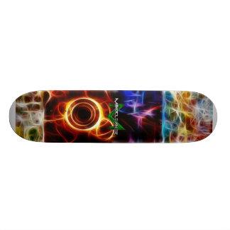 Patin il plateau de skateboard
