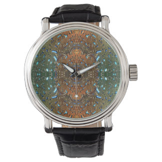 Patina Fractal Wrist Watches