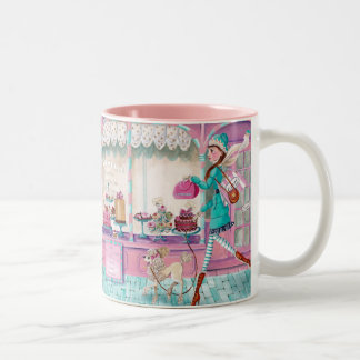 Patisserie Fashion Birthday Girl Cute Mug