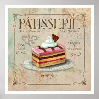 Patisserie II  Poster Art
