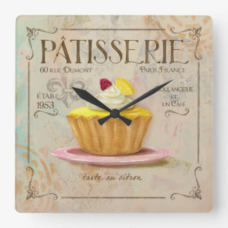 Patisserie Lemon Tart Clock
