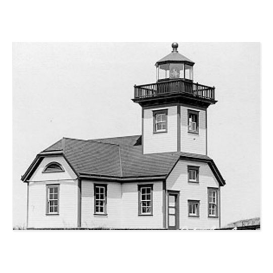 Patos Island Lighthouse Postcard