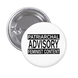 Patriarchal Advisory 1 Inch Round Button