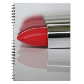 Patriciapotluck lots of red lipstick notebook