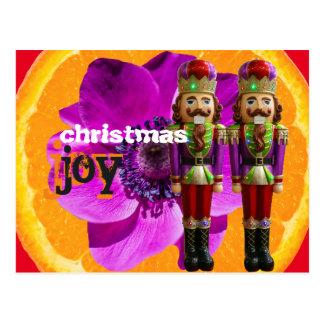 patriciapotluck nutcracker joy christmas postcard