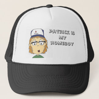 Patrick is MY homeboy Trucker Hat