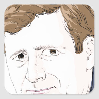 Patrick Kennedy Square Sticker