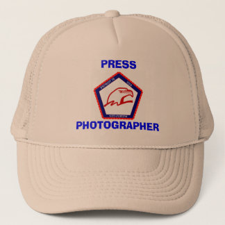 PATRIOT76, PHOTOGRAPHER, PRESS TRUCKER HAT