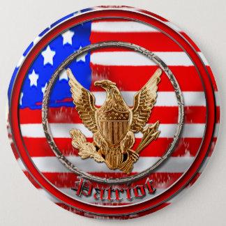 Patriot 6 Inch Round Button