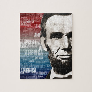 Patriot Abraham Lincoln Jigsaw Puzzle