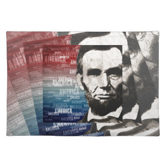 Patriot Abraham Lincoln Place Mat