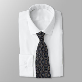 Patriot Abstract Star Men's Neck Tie