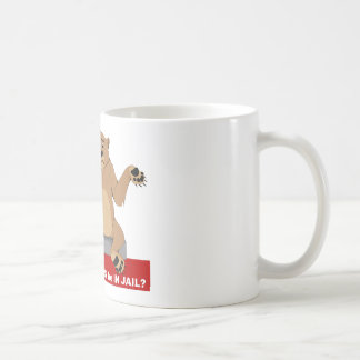 Patriot Act and CaliBear Coffee Mug