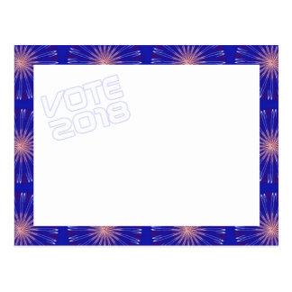 Patriot Coronas VOTE 2018 postcard